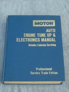 MOTOR AUTO ENGINE TUNE UP & ELECTRONICS MANUAL (Lancaster)