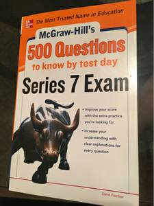 Series 7 Exam Study Books Mint Condition (Staten Island NYC)