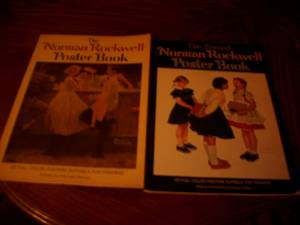 The Norman Rockwell Poster book (Garland Tx)