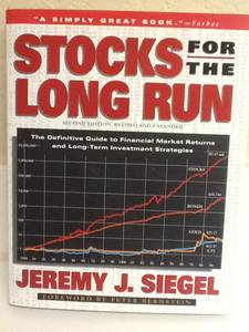 STOCKS FOR THE LONG RUN Book - Siegel - Investing - Autograph (Maryland &