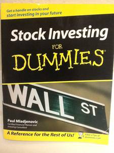 STOCK INVESTING For Dummies Book - Market Business Money (Maryland & Flamingo)