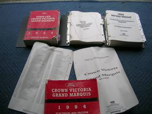 94 Crown Vic Service manual