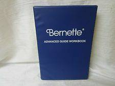 berina/bernette advanced guide workbook (everett)
