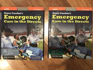 Nancy Caroline's Emergency Care In The Streets (2 Vol) EMT PARAMEDIC (Lower East