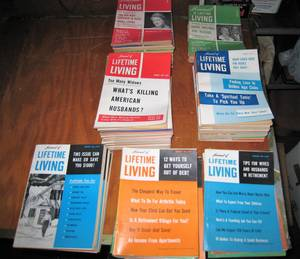 G06 Lot of 60 Vintage Journal of Lifetime Living 1950's 1960's (Glendale