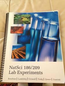 NatSci 186/209 lab experiments