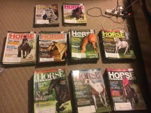HORSE ILLUSTRATED Magazines - 12 issues (Geneva)