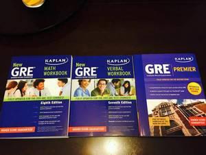 New Kaplan Test Prep Books (Verbal and Math) (Boca Raton)