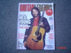 Guitar Legends Neil Young Magazine (Port Orchard)