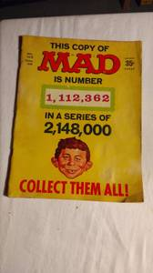 Mad Magazine #123 (EC 12/68) CGC 9.2 NM - Alfred E Neuman (Gahanna)