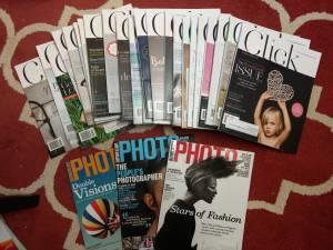 27 New Photography magazines (NW Raleigh near Sawmill Rd + Lynn Rd)