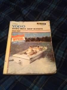 Volvo Stern Drive shop manual (n east)