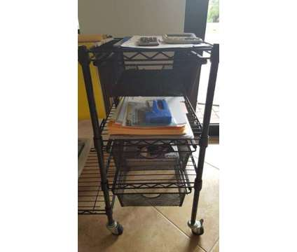 Office Cart with Drawers