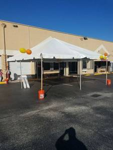 Rent tent 20x20 $130.00 all day (Miami Hialeah kendall broward)