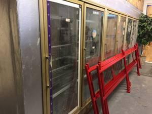 8 door cooler walk in cooler party store (DTN)