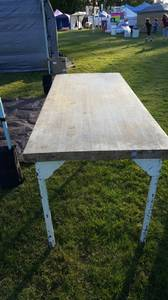 Bakers Butcher Block Table (Tacoma)