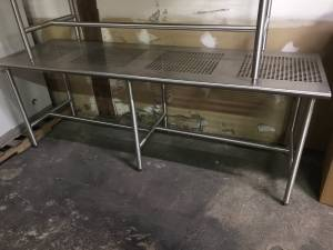 Electropolished Stainless Steel Cleanroom Table (Durham near RTP)