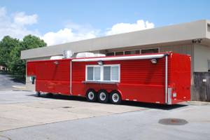 44' Mobile Commercial Kitchen / Food Trailer (Bristol)
