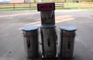 BUNN COMMERCIAL ICED TEA BREWING MACHINE WITH 3 URNS / DISPENSERS (Wears Valley