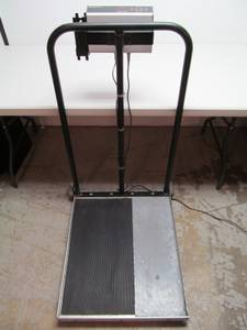 Health O Meter Model 2500KL 2500 KL Wheel Chair Scale (Fridley)