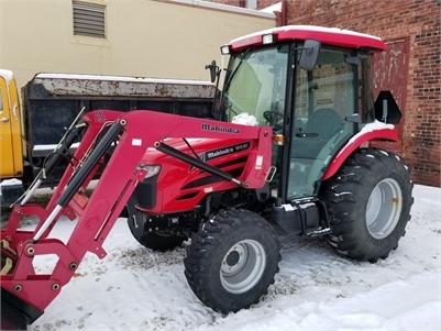 Mahindra 50HP Tractor Pkg. W/26' Trailer & Attachments!