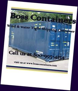 40' standard or HC WWT shipping container shipping containers