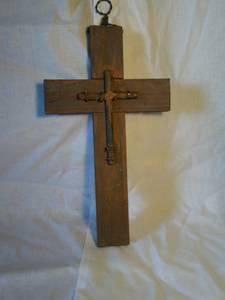 Rustic Handmade Crosses- Special Gifts - (Santa Fe)