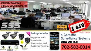 SECURITY CAMERAS AND ALARMS WE MATCH ANY PRICE O BETTER (las vegas)
