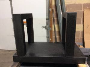 Granite Machine Surface Plate with Gantry (Maple Grove)