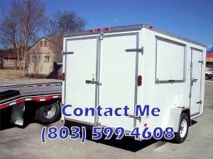 12x8 ft food trailer -