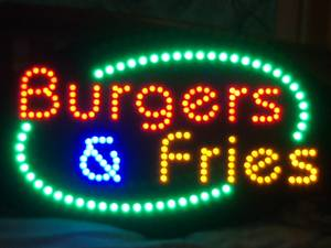 Full Color Neon Sign -
