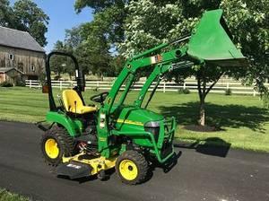 raleighIntelligent 2009 John Deere 2305 Tractor & Only