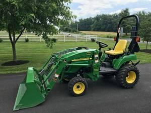 highattractive 2009 John Deere 2305 Tractor & diesel