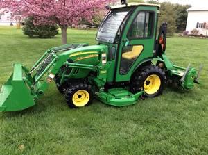 full2009 John Deere 2320 diesel tractor