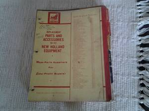 1970 s TISCO farm tractor parts catalog (col hts)