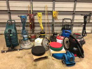FLOOR CARE BUSINESS FOR SALE (dayton/springfield)