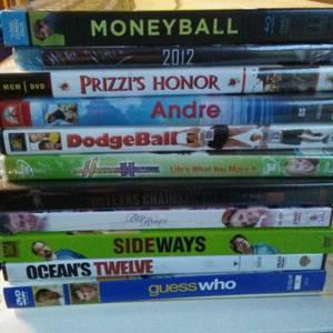 Movies dvd lot of 18 (NE Philly/NJ)