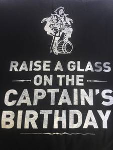 Captain Morgan's Birthday T-Shirt (Burnsville)