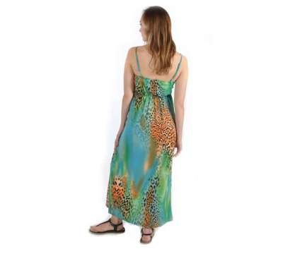 Brand New Leopard Print Maxi Dress