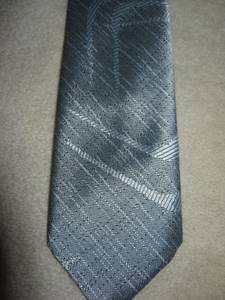 SERGIO VALENTE- USA made-80'S-VINT. TIES & Shimmery Gold bow tie ((far ne philly