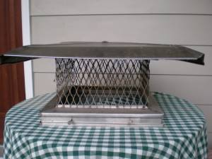 Chimney Cap, Stainless Steel (Cockeysville)