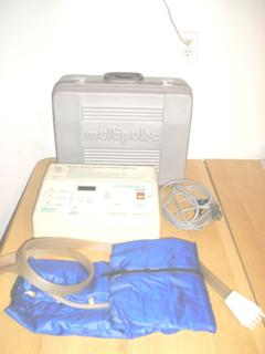 Talley Multipulse 1000 Compression Leg Jacket Therapy Unit With Case