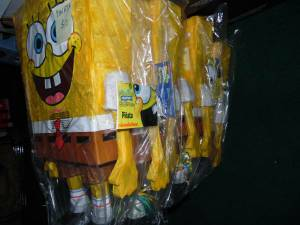 Pinata's: Sponge Bob Square Pants --New in Package-Half Price--