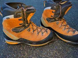 Men's Skarpa Mont Blanc GTX boots EU size 45 1/2 (S. Seattle)