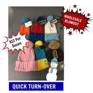 WHOLESALE KIDS HATS GLOVES QUICK TURNOVER (reading)