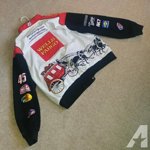 Kyle Petty Nascar jacket for sale, size 4XL