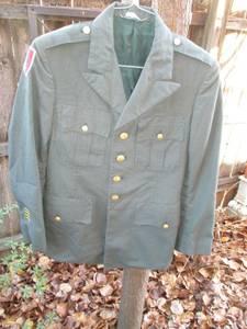 US ARMY DRESS JACKET and PANTS (short north)