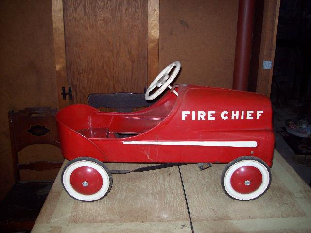 Antique Toy Pedal Car
