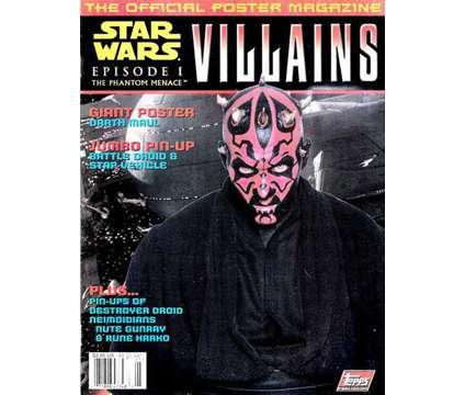 STAR WARS Episode 1: VILLAINS/HEROES Official Poster Magazine Set