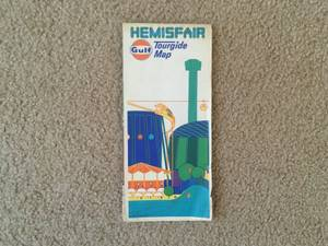 Gulf Hemisfair Tourgide Map (Dallas)